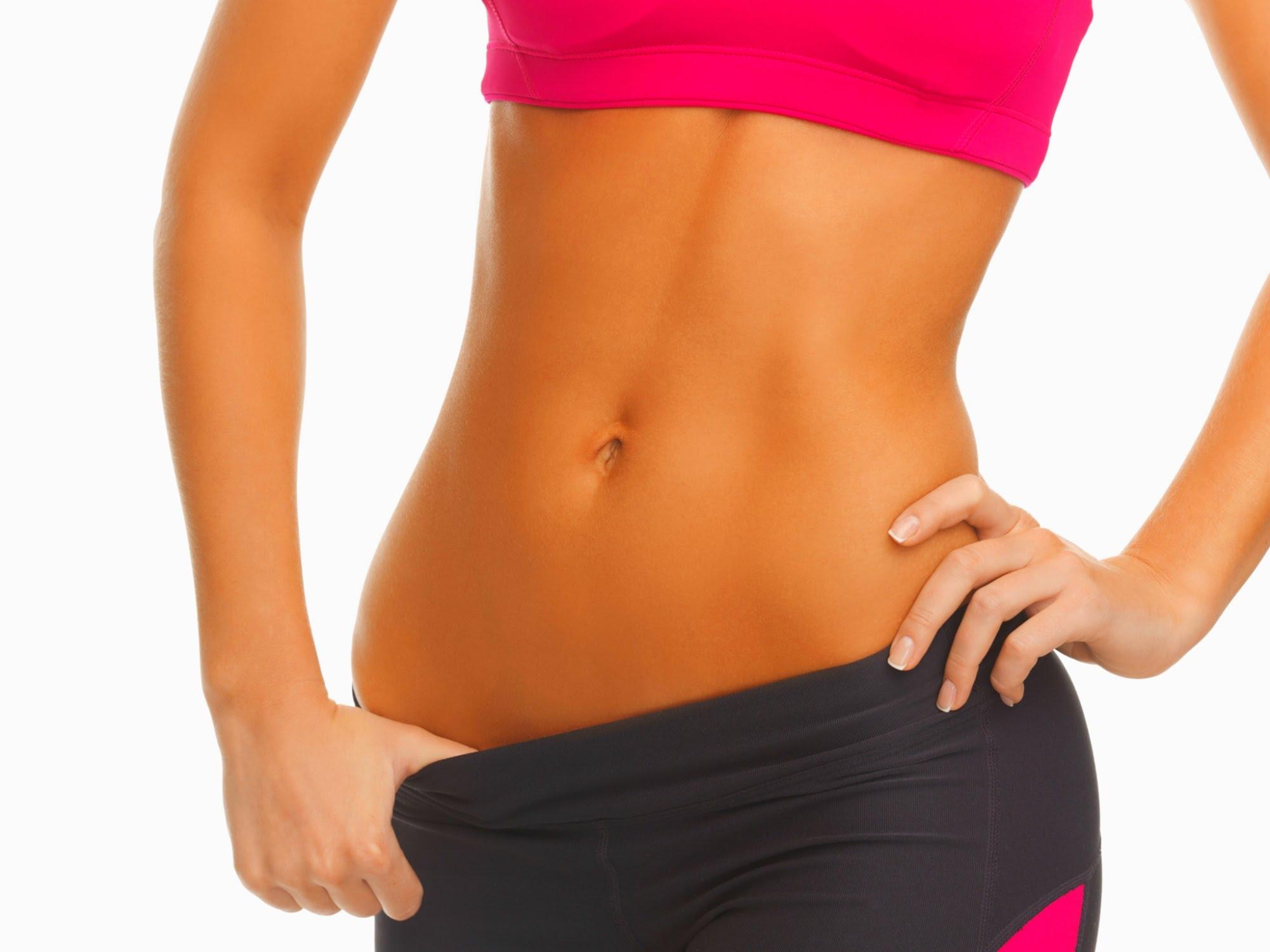 обертывание для похудения живота рецепты