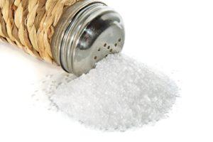 соль - причина целлюлита