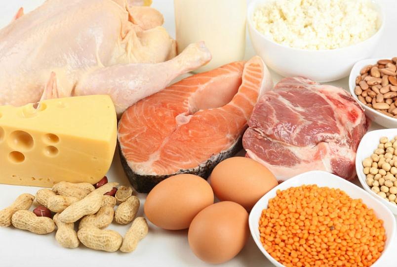 продукты, которые содержат белок
