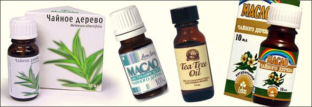 Отбеливание (осветление) с помощью масла чайного дерева