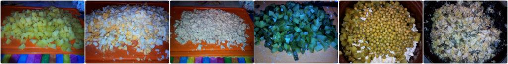 рецепт классического оливье