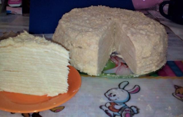 торт наполеон пошаговый рецепт с фото