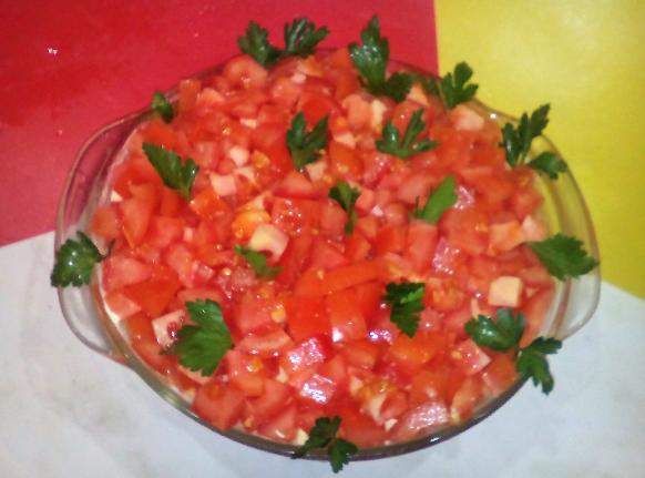 салат красная шапочка рецепт с фото пошагово с помидорами