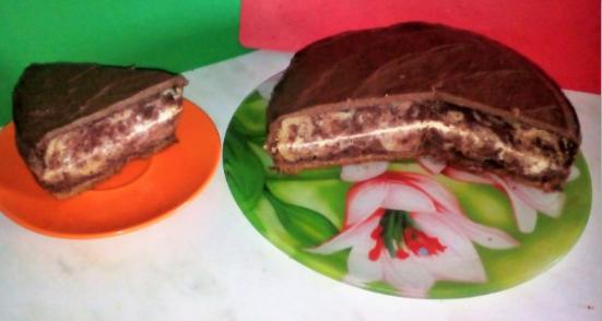 торт зебра рецепт с фото пошагово в домашних условиях