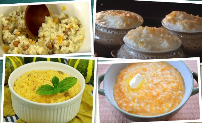 каша тыквенная рецепт в духовке