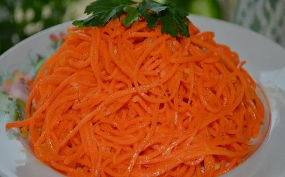 морковь по-корейски в домашних условиях рецепт фото