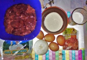 Суфле из куриной печени: ингредиенты