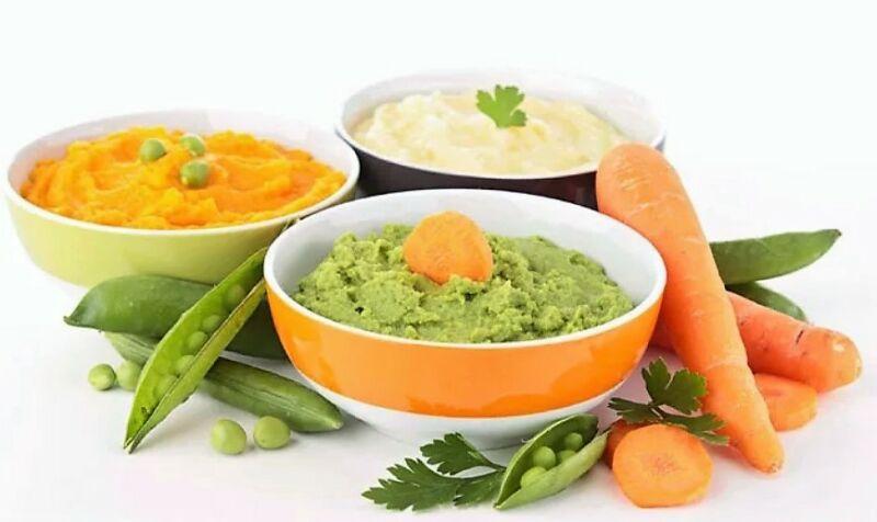 перетертые овощи для диеты 5