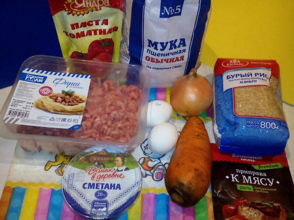 тефтели в духовке с подливкой пошаговый рецепт с фото