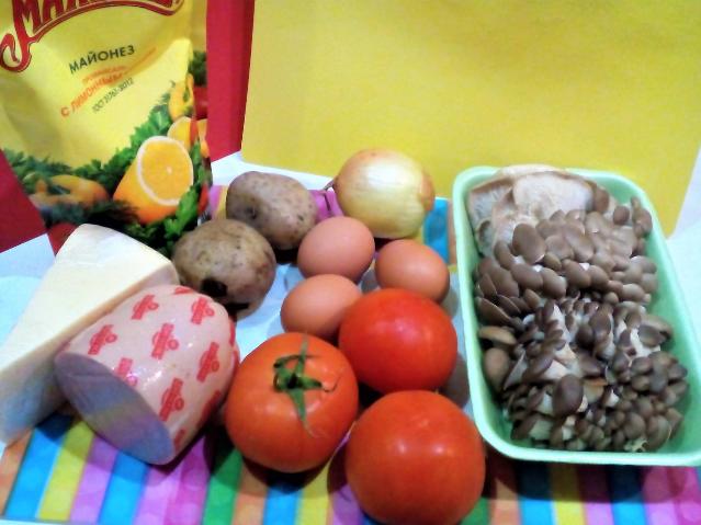 салат красная шапочка рецепт с помидорами