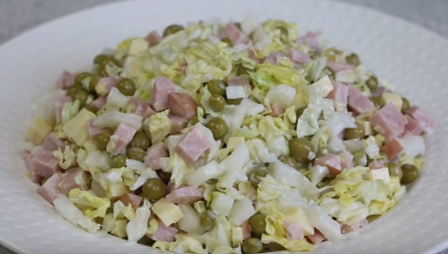 салаты рецепты с фото простые и вкусные праздничные новые