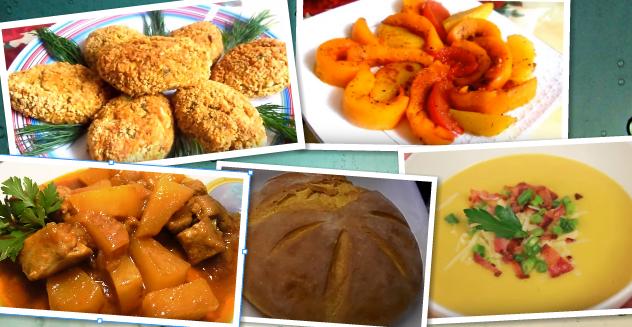 Блюда из тыквы: топ-5 вкусных рецептов.