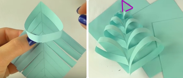 Объемная снежинка из бумаги своими руками
