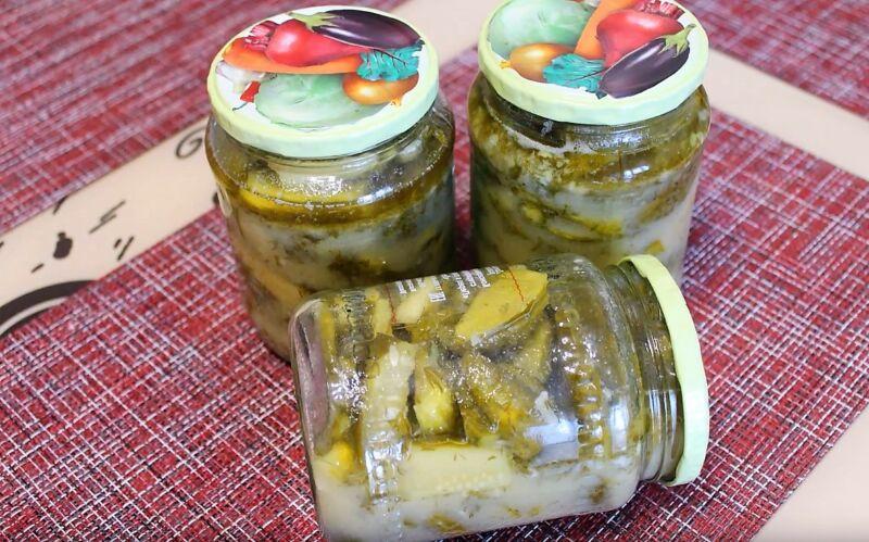 салаты из огурцов на зиму