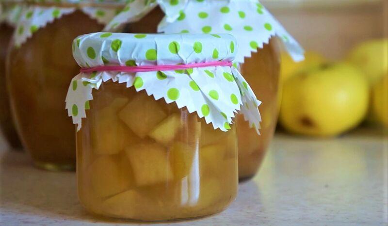 варенье из яблок дольками прозрачное быстро