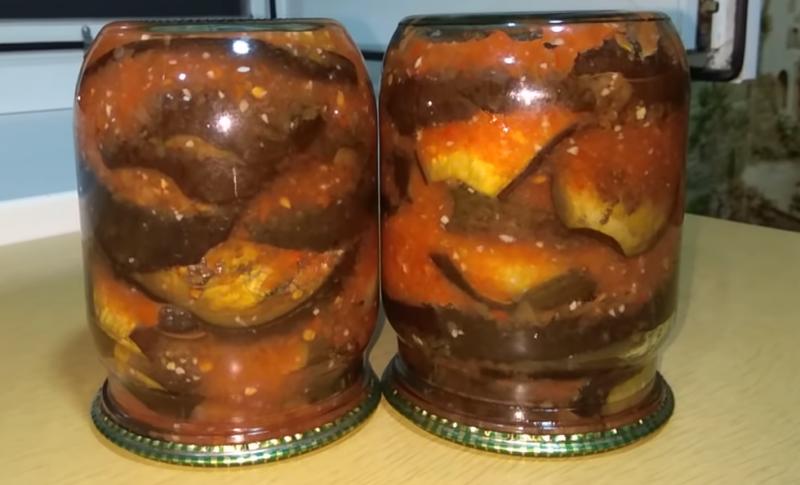 баклажаны на зиму